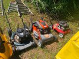 3 lawn mowers - (not currently running)