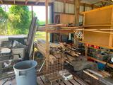 Picking rights to area including: lumber, rebar, metal, rollers, pick up trailer, scrap