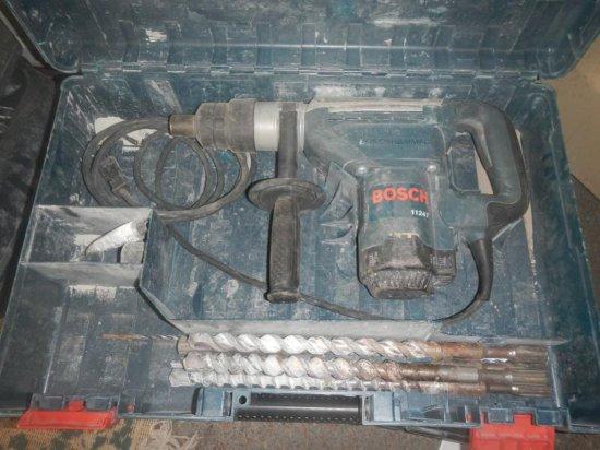 Bosch 11247 Spline Rotary Hammer in Case