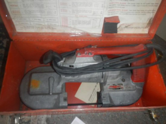 Milwaukee Portable Band Saw in Case