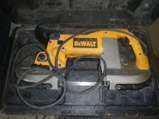 DeWalt Portable Band Saw in Case