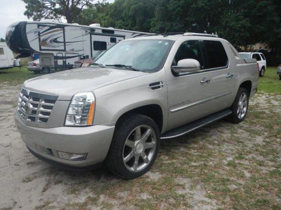 2008 Cadillac Escalade Ext Pickup Truck Vin 3gyfk62868g141537