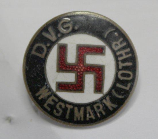 WWII Nazi DVG Badge