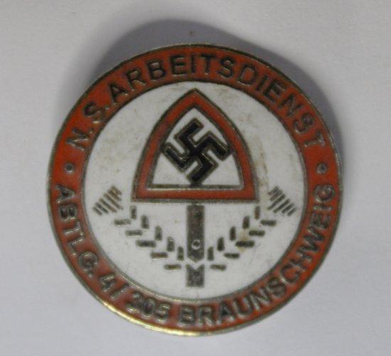 German WWII Reich Labour Service RAD Badge