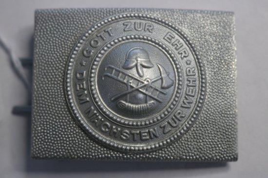 German Fireman Belt Buckle