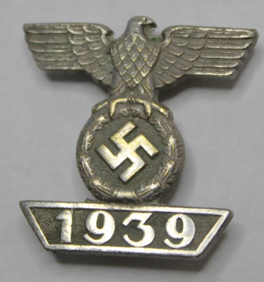 German Nazi 1939 Iron Cross 1st & 2nd Clas Lapel Pin