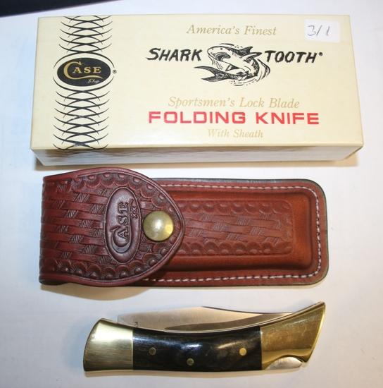 1982 Case Shark Tooth Pocketknife