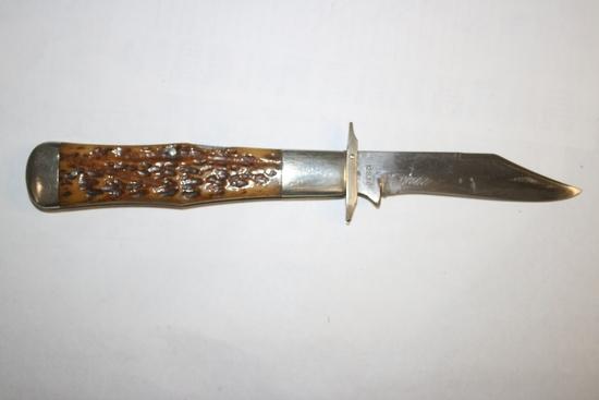"Cattaraugus ""King of the Woods"" Lockback Hunter Folding Knife"