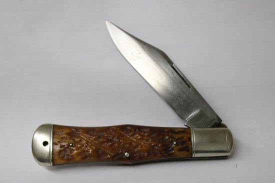Cattaraugus King of the Wood Coke Bottle Pocketknife