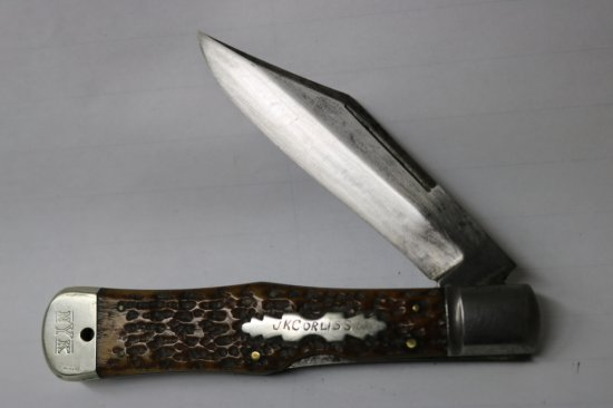 New York Co. Walden Coke Bottle Pocketknife
