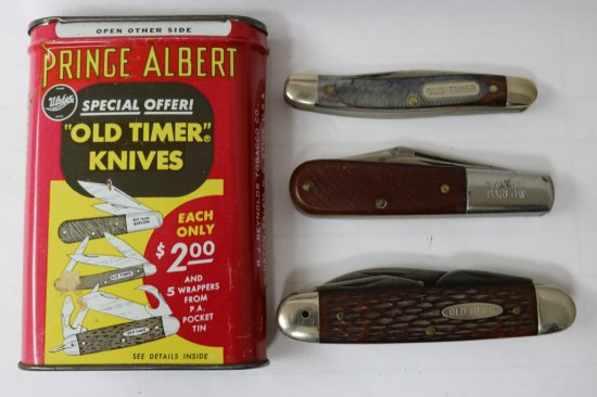 Ulster Prince Albert Pocketknife Set