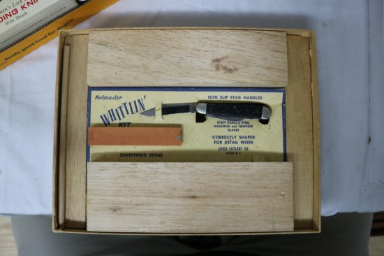 Kutmaster Pocketknife Whittlin' Kit