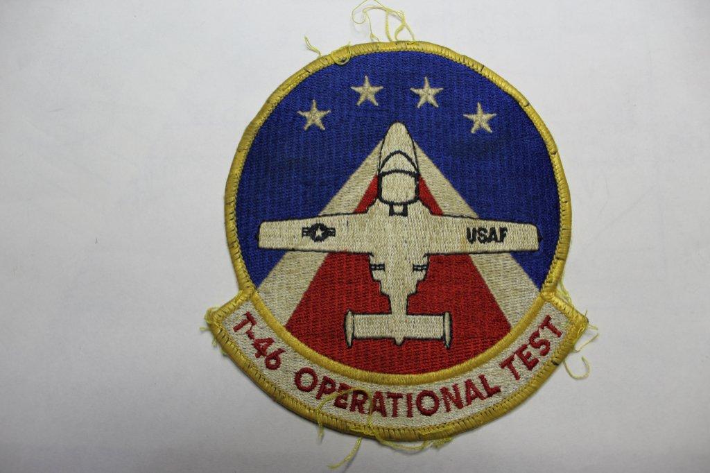 Vintage T-46 Operational Test Uniform Patch
