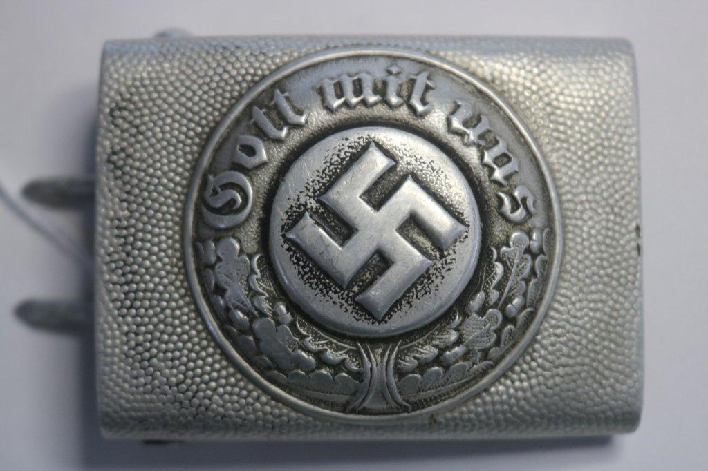 German WWII Police EM/NCO's Belt Buckle