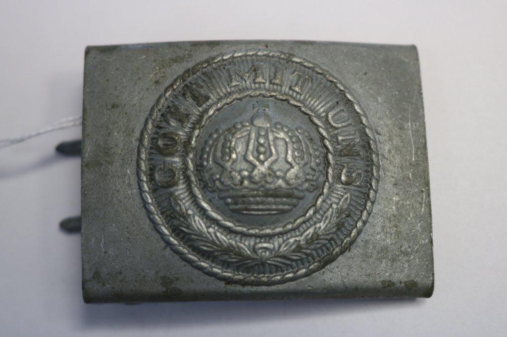 German WWI Prussian Army EM/NCO's Belt Buckle