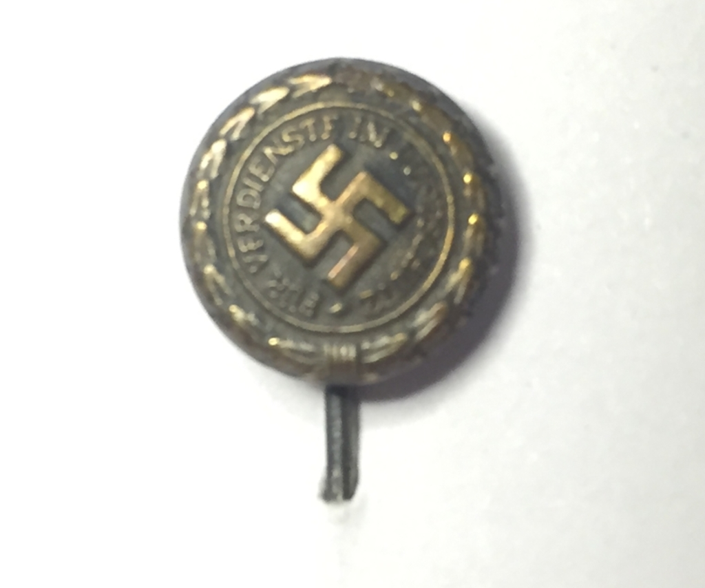 German WWII NSDAP Nazi Pary Membership Stick Pin