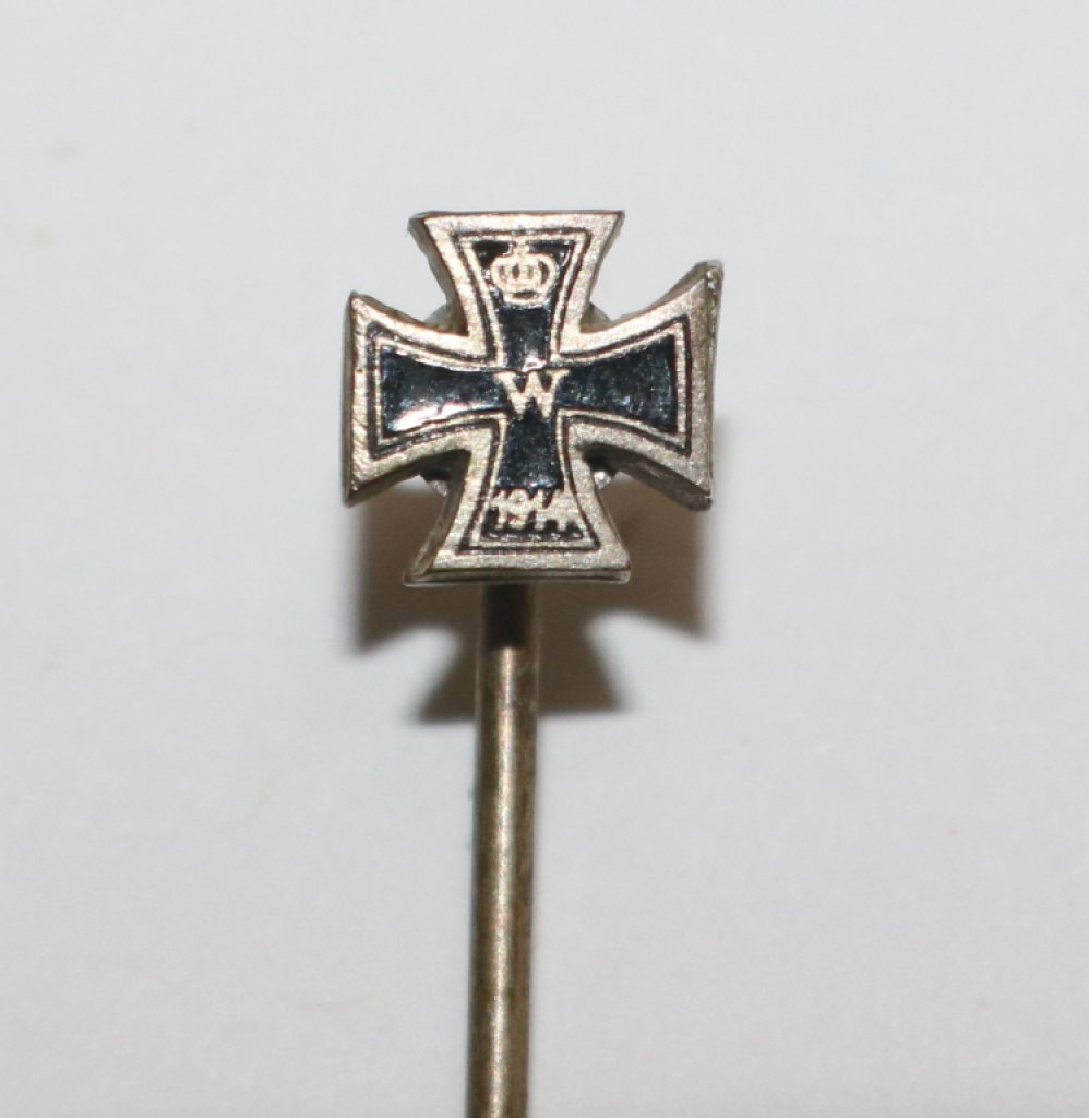 German WWI Prussian 2nd Class Iron Cross Stick Pin