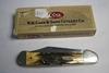 1989 Case Copperheat Stag Pocketknife