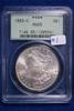 1883-O MS65, PCGS Morgan Silver Dollar