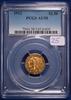 1912 Gold AU58, PCGS Indian Head $2.50 Coin