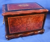 Burled Inlaid Lift Top Box for Pens or Cigars