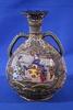 Ornate Moriage Handled Vase