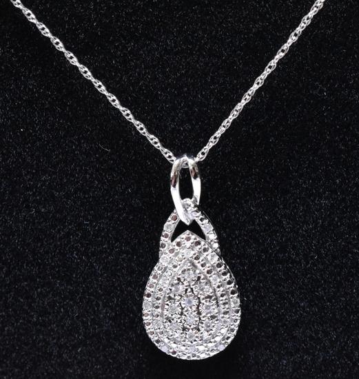 1 ct. Diamond Estate Necklace