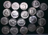 20 Silver Kennedy Half Dollars