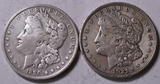 1921 & 1890 Morgan Silver Dollars