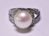 Large Pearl Estate Ring