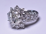3.69 ct. Diamond Estate Ring in Platinum