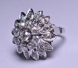 2.34 ct. Tiffany Style Diamond Estate Ring