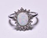 1.88 ct. Opal Dinner Ring