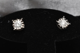 1 ct. Diamond Stud Earrings, 14 kt