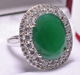 7.28 ct. Emerald Estate Ring