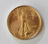 1999 Liberty $5 Gold Coin