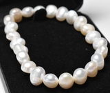 Pearl Single Strand Bracelet