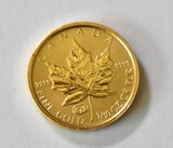 1999 Maple Leaf $5 Gold Coin