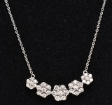 Large Diamond Estate Necklace, 10 kt.