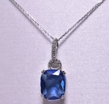 2.86 ct. Tanzanite Necklace