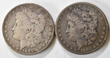 1881 & 1901 Morgan Silver Dollars