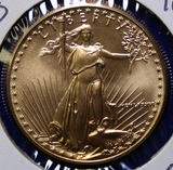1986 U.S. Gold $50 American Eagle Coin, 1oz.