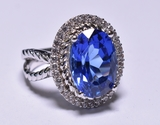 Harry Winston 5 ct. Tanzanite Dinner Ring