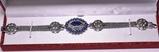Large Sapphire Estate Bracelet