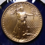 1986 U.S. Gold $25 American Eagle Coin, 1/2oz.