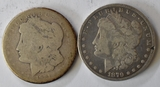1879 & 1921 Morgan Silver Dollars