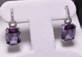 6.11 ct. Tanzanite Estate Earrings
