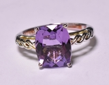 2.96 ct. Amethyst Dinner Ring