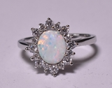 Opal Estate Ring