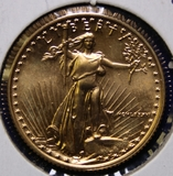 1986 U.S. Gold $10 American Eagle Coin, 1/4oz.